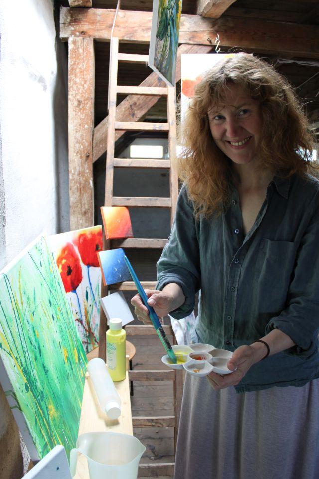 Kursleiterin Astrid Homuth