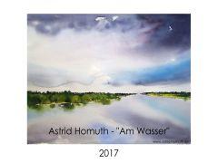 Aquarellkalender 2017
