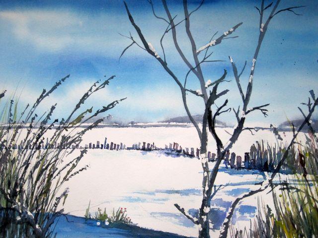 Winter am Bodden